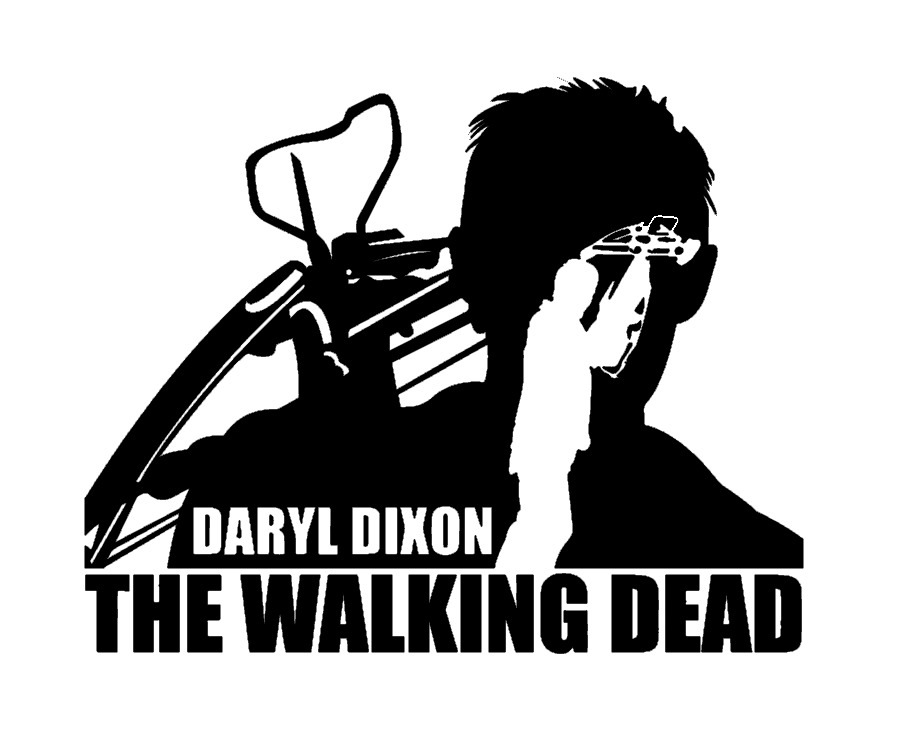 Decal vinyl truck car sticker the walking dead daryl dixon ebay