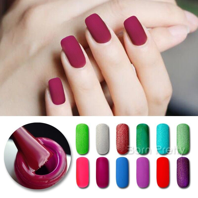 5ml Nail Matte UV Gel Polish Soak Off Topcoat Gel Nail Art