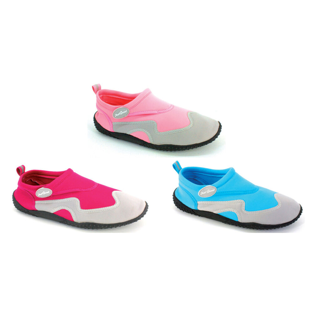 38e635ab833f Details about Women Aqua Shoe Water Shoes Ladies Beach Pool Swim Surf Yoga  S6012 New