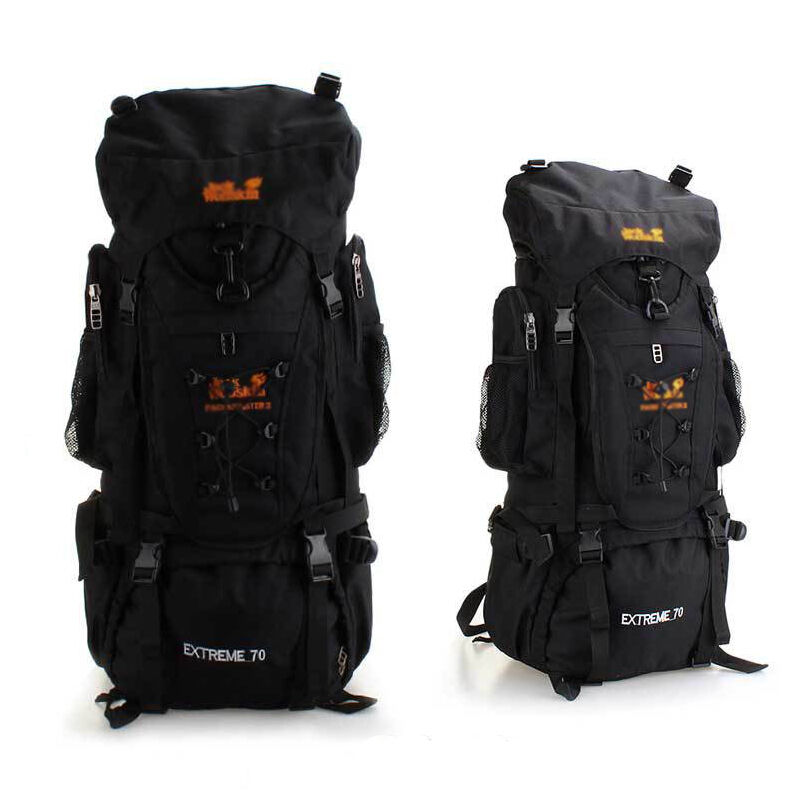 70l wasserdicht trekkingrucksack outdoor rucksack klettern. Black Bedroom Furniture Sets. Home Design Ideas