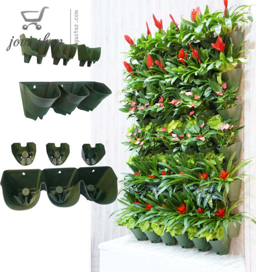 Self Watering Hanging Planter Vertical Garden Planter