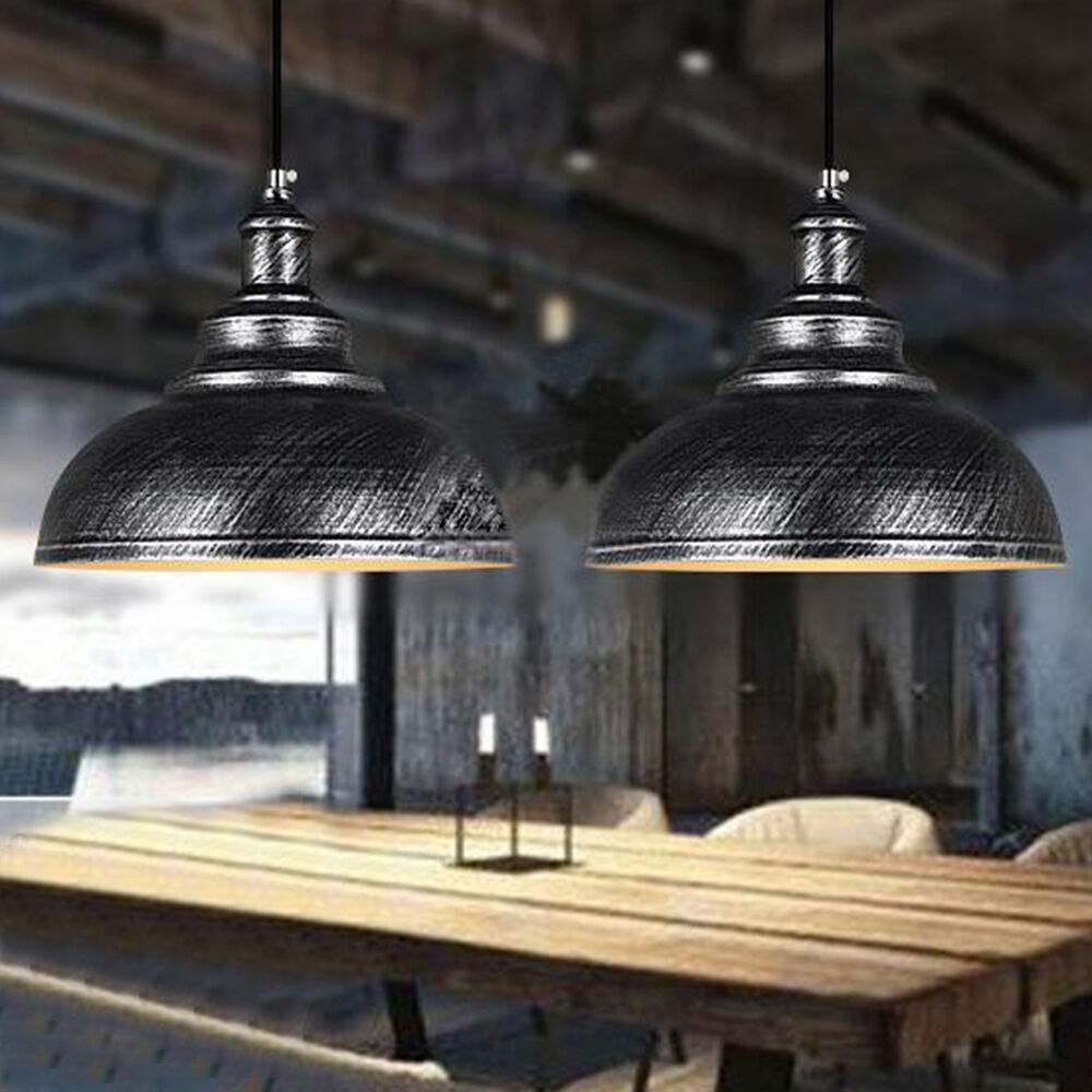 Vintage Retro Industrial Pendant Light Ceiling Lamp Cover