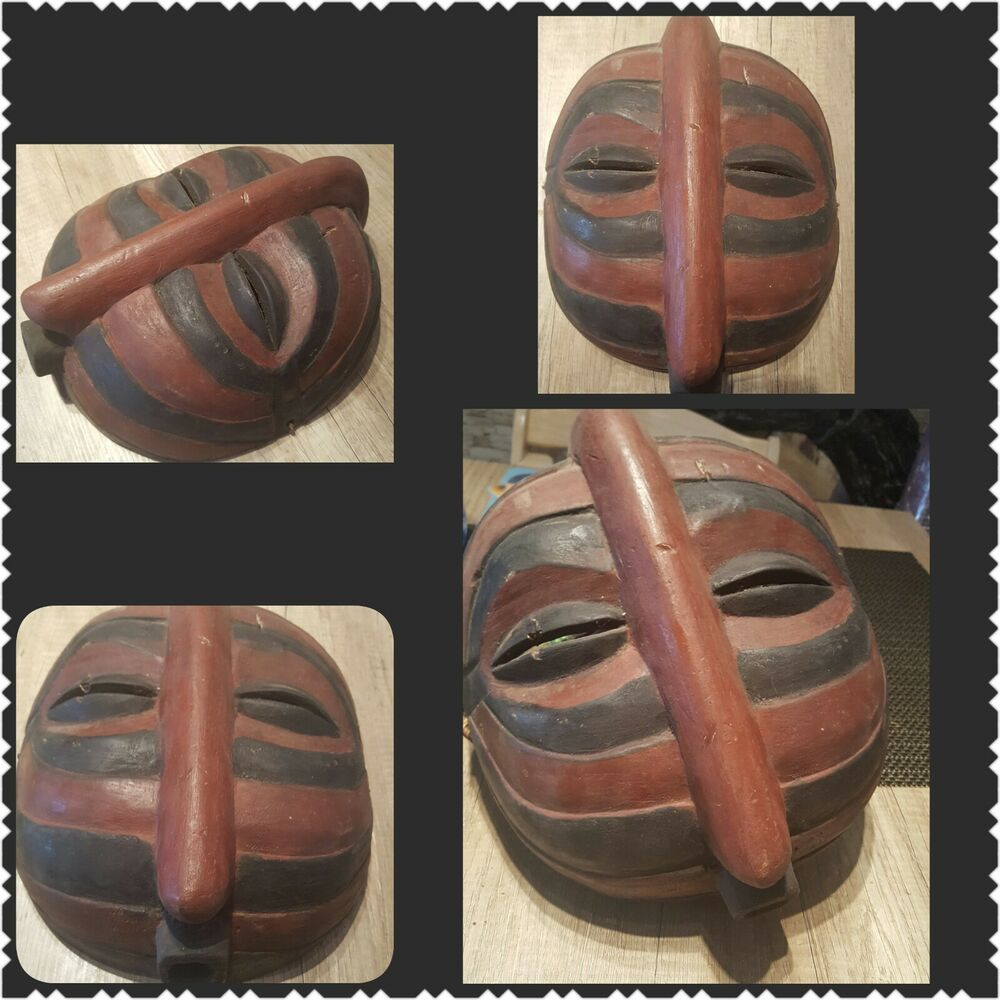 maske afrika maske alt afrikanische holzmaske wandmaske ebay. Black Bedroom Furniture Sets. Home Design Ideas