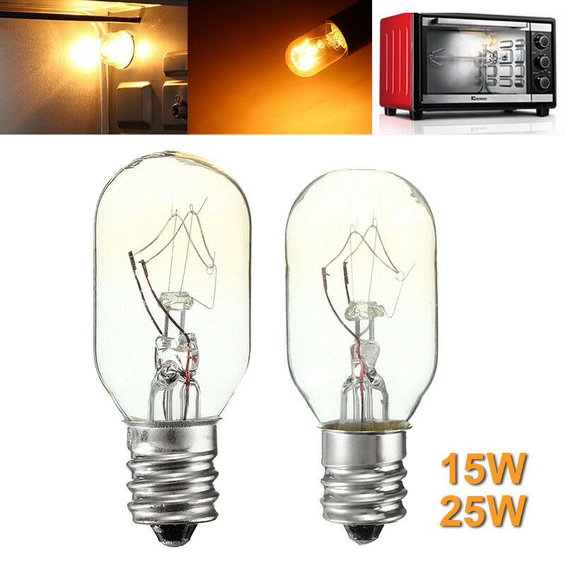 E12 E14 Oven Lamps Cooker Heat Resistant Light Bulb 15W