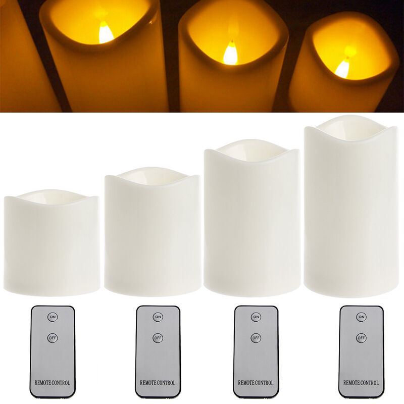 Remote Control Flameless Led Tealight Candles Light