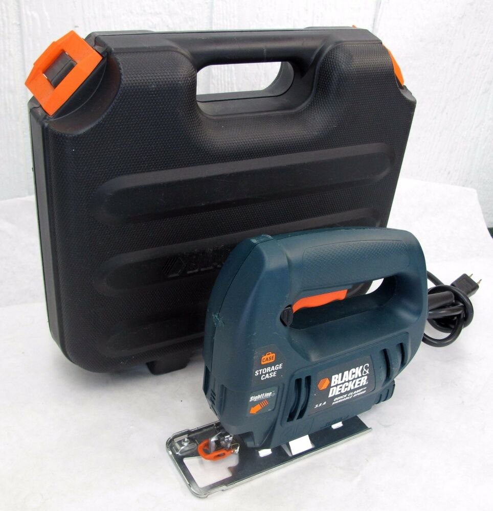 how to change blade on black and decker jigsaw