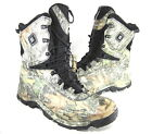 COLUMBIA MENS BUGABOOT PLUS ELECTRIC WINTER BOOT BLACK/CAMO LEATHER US SIZE 14 M