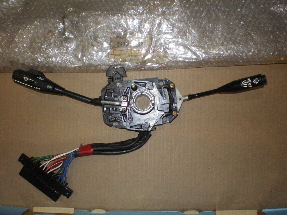 toyota turn signal wiring diy wiring diagrams description nos 1980 82 toyota corolla turn signal switch assembly 84310 12381 78 toyota pickup wiring diagram