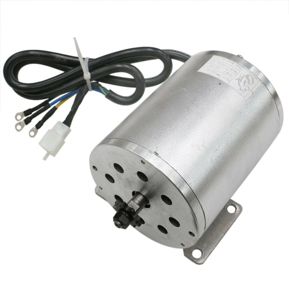 1800w 48v brushless electric dc motor for atv go kart for Small electric motor parts