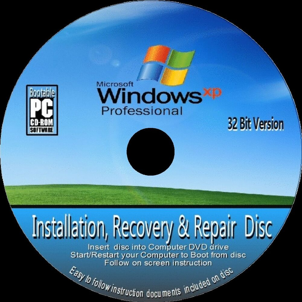 Create a recovery disk for Windows XP