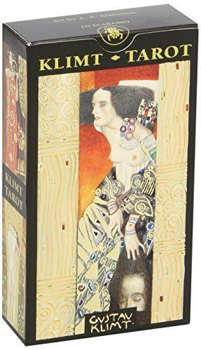 Golden Tarot Of Klimt Cards ( Lo Scarabeo Decks )