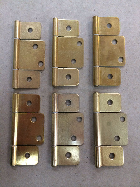 Mobile Home Parts 6 New Interior Door Hinges Polished