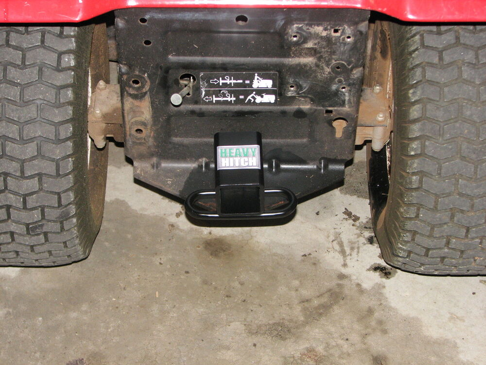 Tractor Tow Hitch : Lawn tractor wheeler hitch receiver ebay