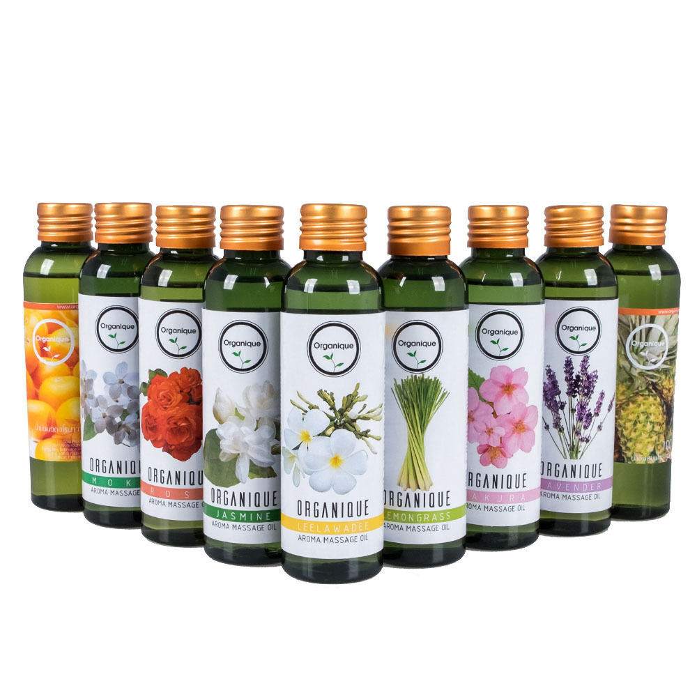 All Natural Scented Body Oils