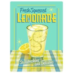 Lemonade Fresh Squeezed Wall Decal 12 x 16 Kitchen Removable Decor