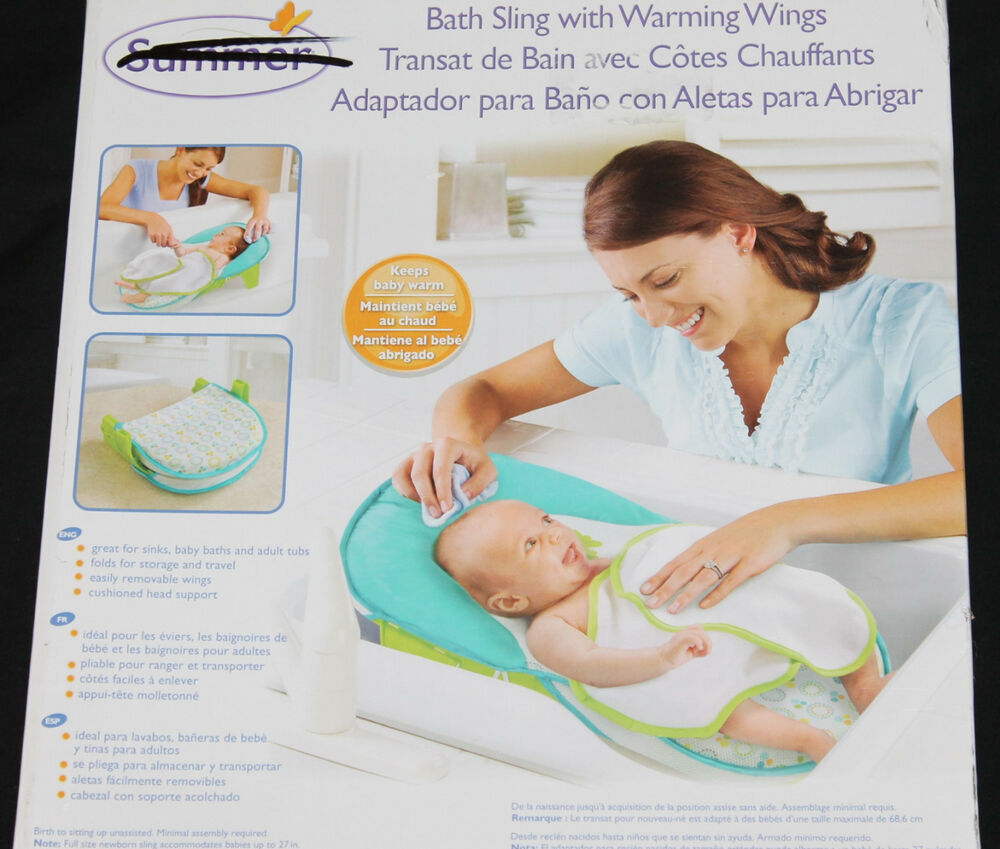 Summer Infant Bath Sling with Warming Wings new in box | eBay