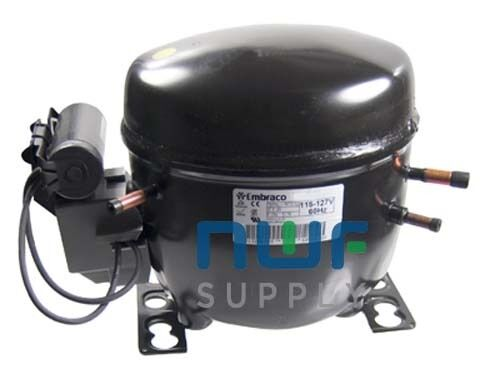 embraco compressor parts accessories embraco egy90hlp replacement refrigeration compressor r 134a 1 3 hp