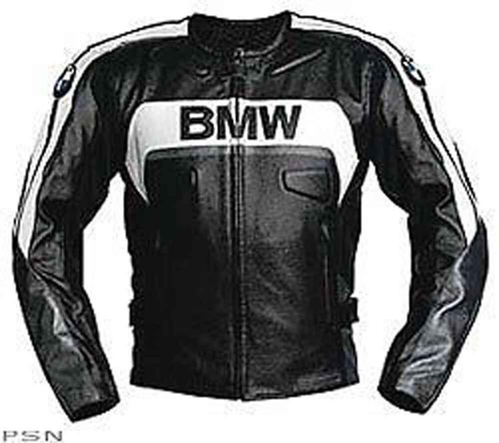 bmw sicherheits r stung leder motorradjacke racing lederjacke all size ebay. Black Bedroom Furniture Sets. Home Design Ideas