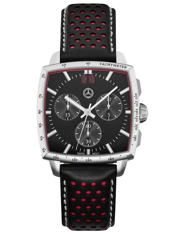Genuine mercedes benz mens chronograph classic rally watch for Mercedes benz watches ebay
