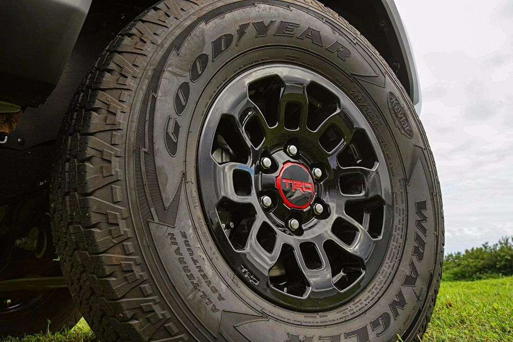 "Toyota 4Runner 1984 - 2017 TRD PRO 16"" BLACK Alloy Rims ..."