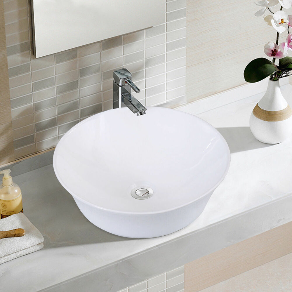 bathroom bowl sink vanity bathroom ceramic vessel sink porcelain bowl vanity basin 15523
