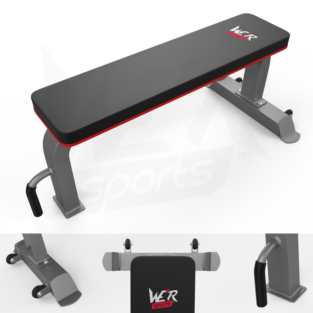 We R Sports Commercial Flat Weight Bench Chest Press Dumbbell Gym Workout Ebay