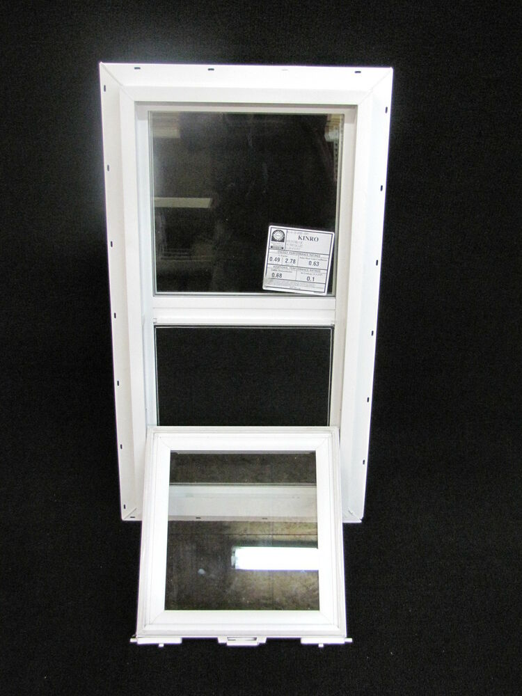 Mobile home window 14x27 insulated vinyl thermopane lower for Vinyl insulated windows