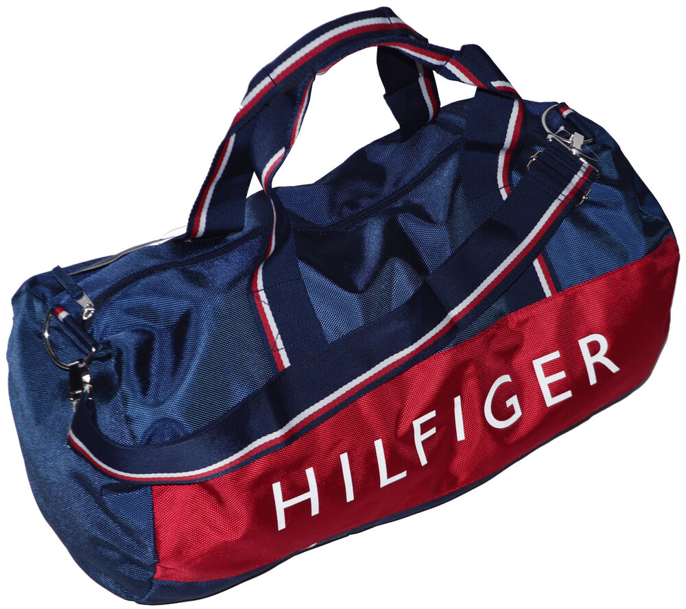 tommy hilfiger tasche duffle bag sporttasche reisetasche umh ngetasche ebay. Black Bedroom Furniture Sets. Home Design Ideas