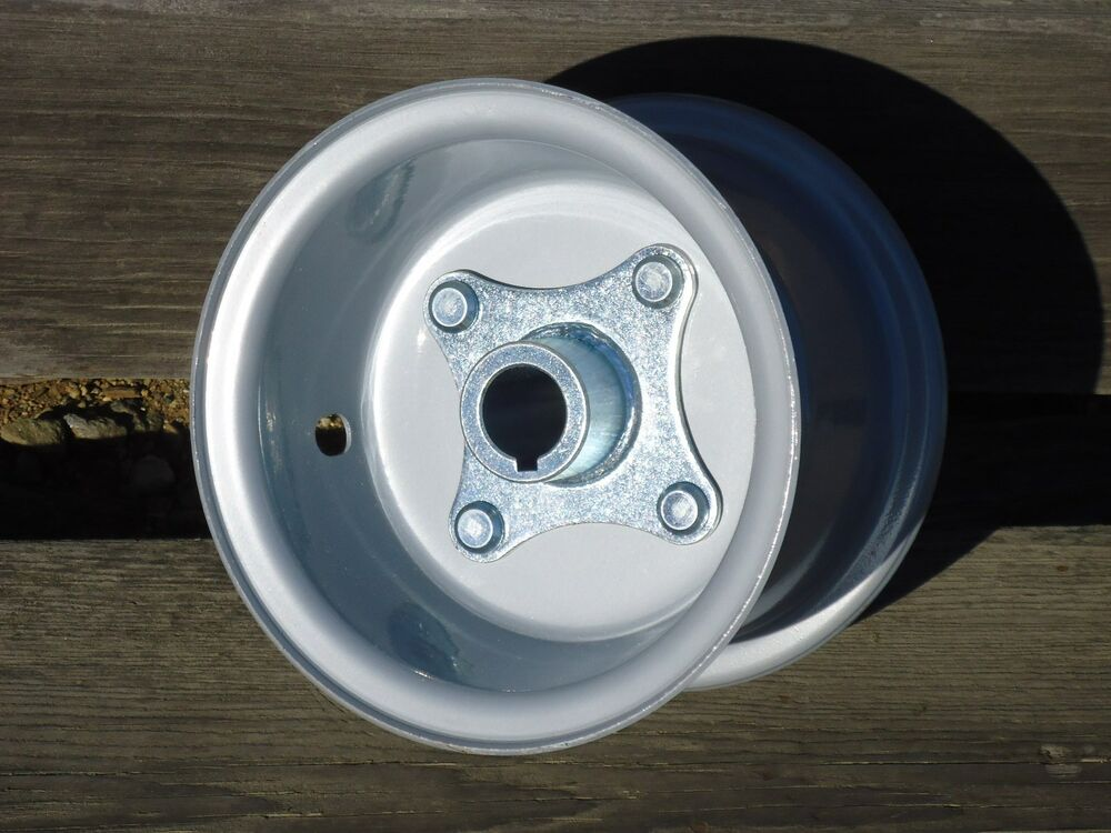 Go Cart Axles With Hubs : One go kart piece wheel rim quot with live