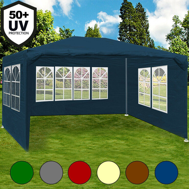 gazebo maui 3x4m garden party marquee outdoor awning. Black Bedroom Furniture Sets. Home Design Ideas