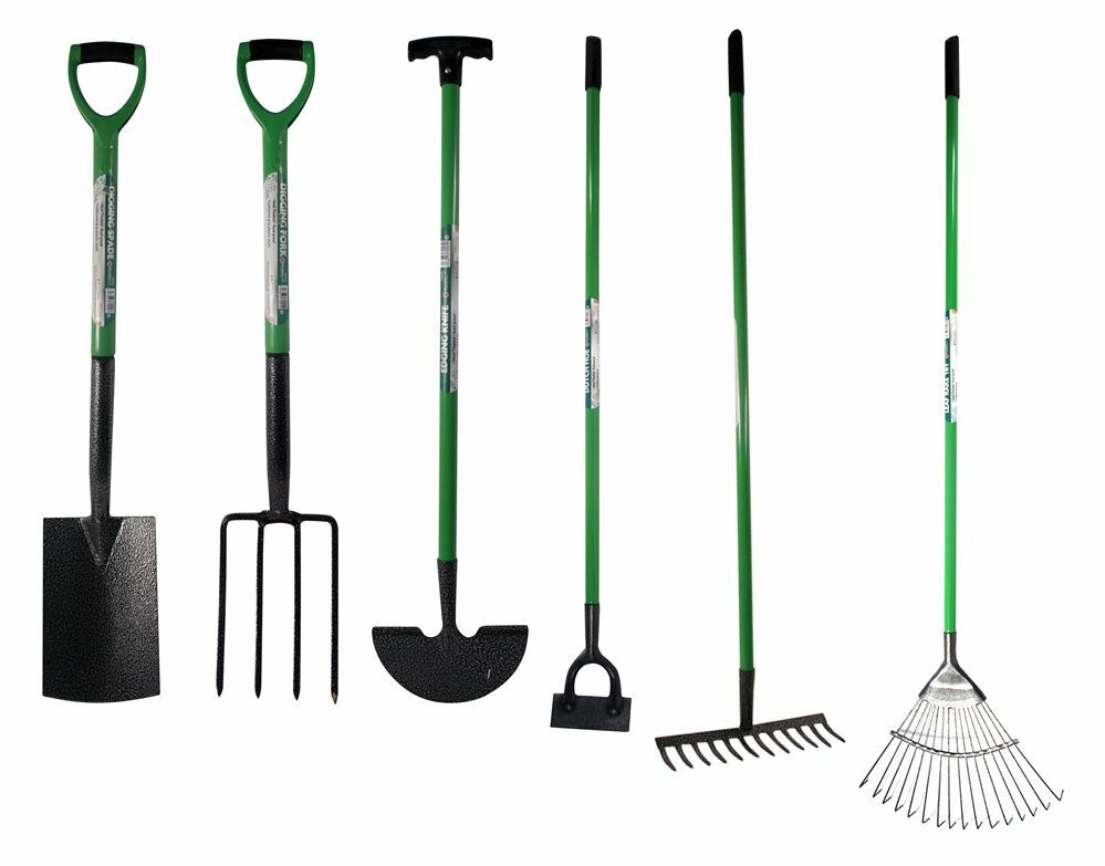 High quality digging garden spade shovel fork hoe rake for Quality garden hand tools