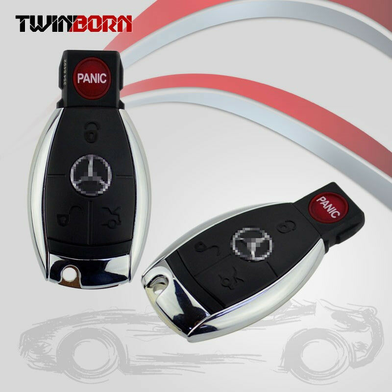 2x fit mercedes benz replacement keyless entry remote car for Mercedes benz keys replacement cost