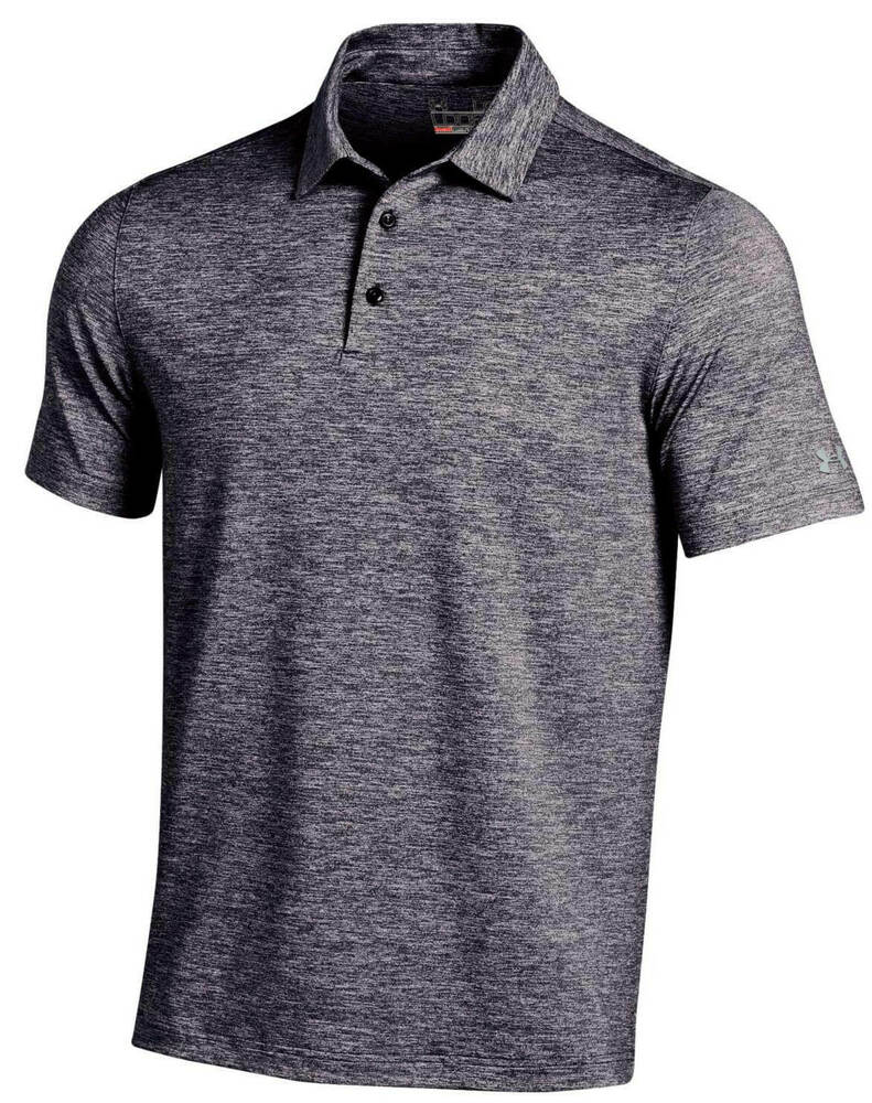 a102f790 Details about Under Armour Elevated Heather Polo Golf Shirt Mens New Choose  Color/Size