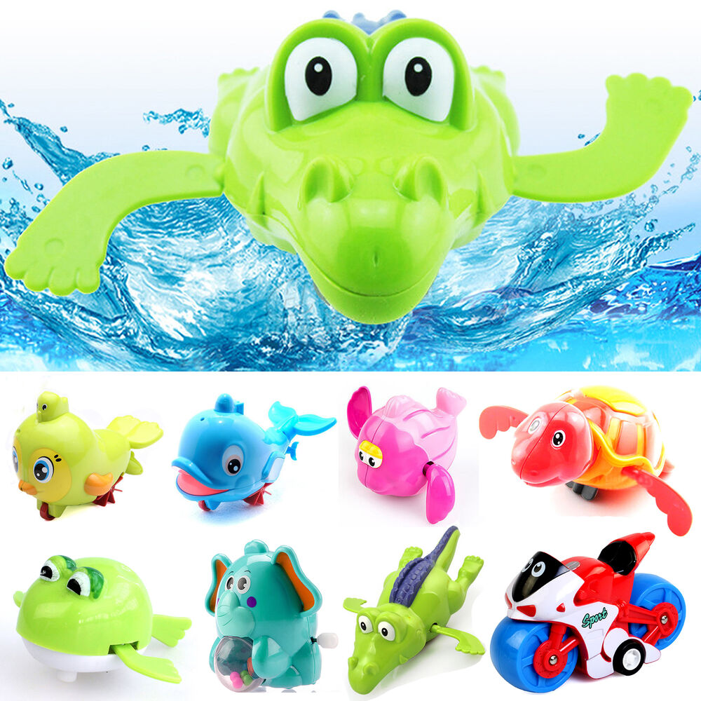 Cool Bath Toys : Cool new swimming animal pool toys for baby children kids