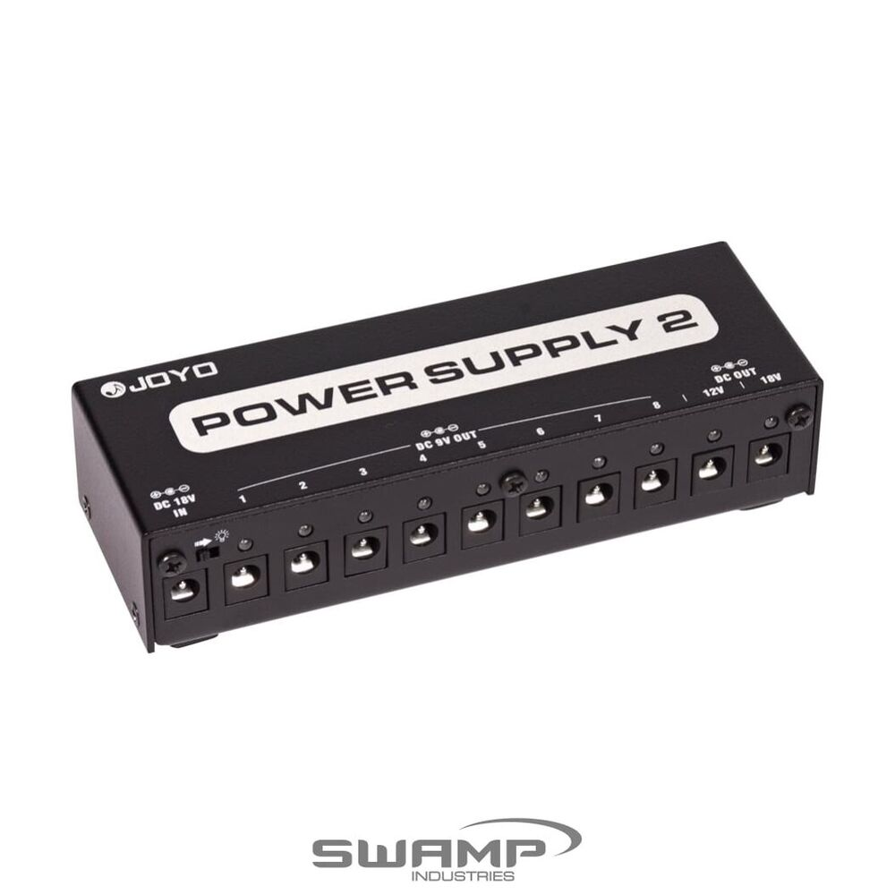 joyo jp 02 guitar pedal power supply station multi output 9v 12v 18v ebay. Black Bedroom Furniture Sets. Home Design Ideas