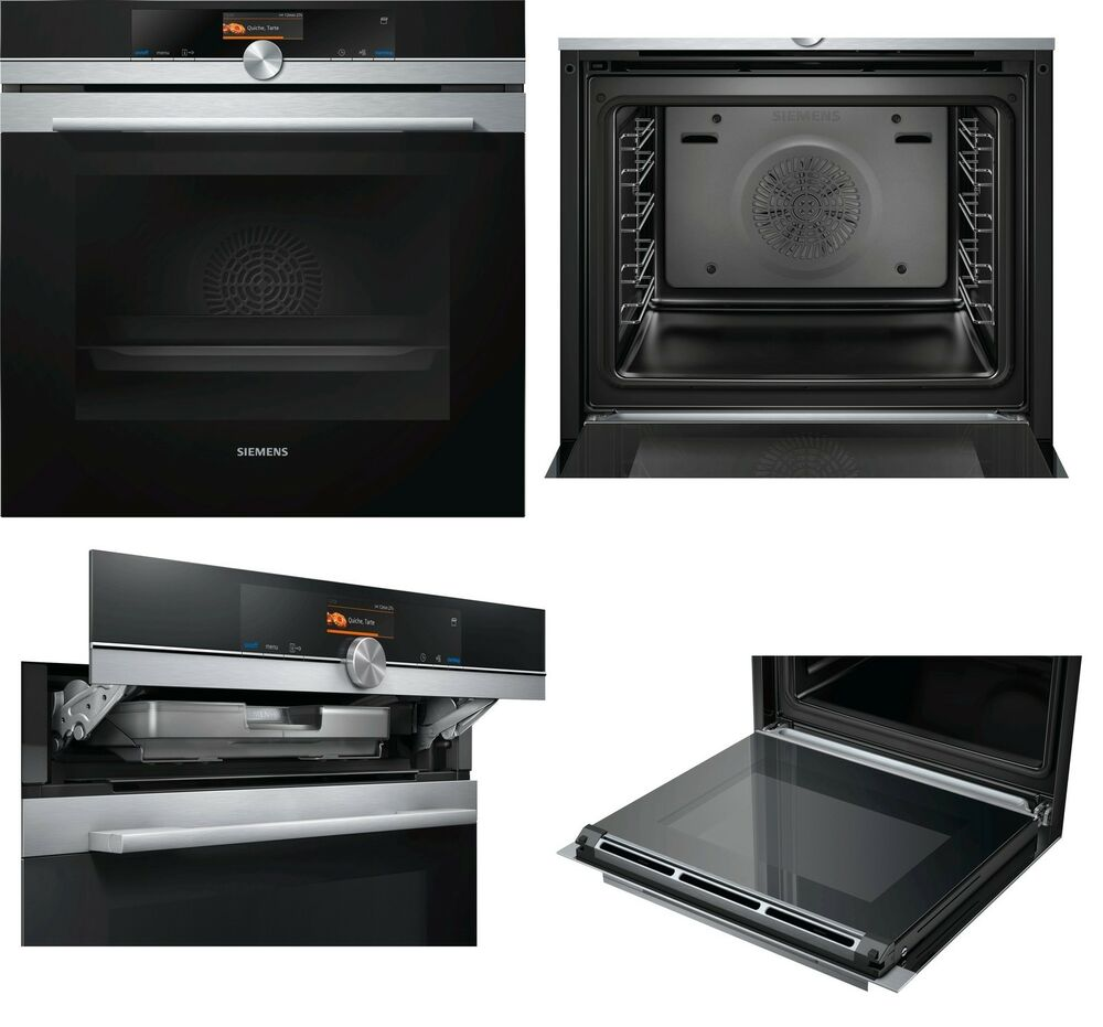 einbau dampfbackofen siemens hs636gds1 iq700 71 liter 2 sofortrabatt a ebay. Black Bedroom Furniture Sets. Home Design Ideas