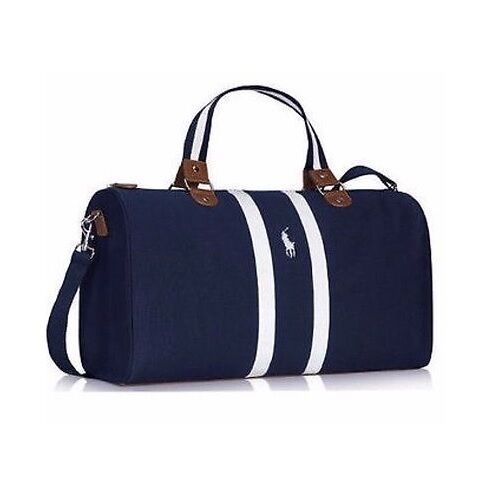 20547f99fa Details about BRAND NEW RALPH LAUREN PARFUMS POLO BLUE WEEKEND   TRAVEL    HOLIDAY   SPORT BAG