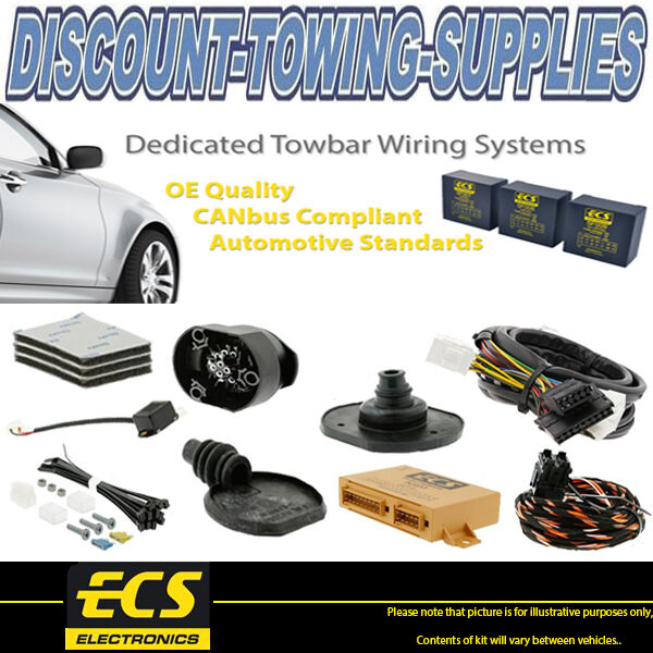 Ecs 13 Pin Dedicated Towbar Wiring Kit Ford Transit