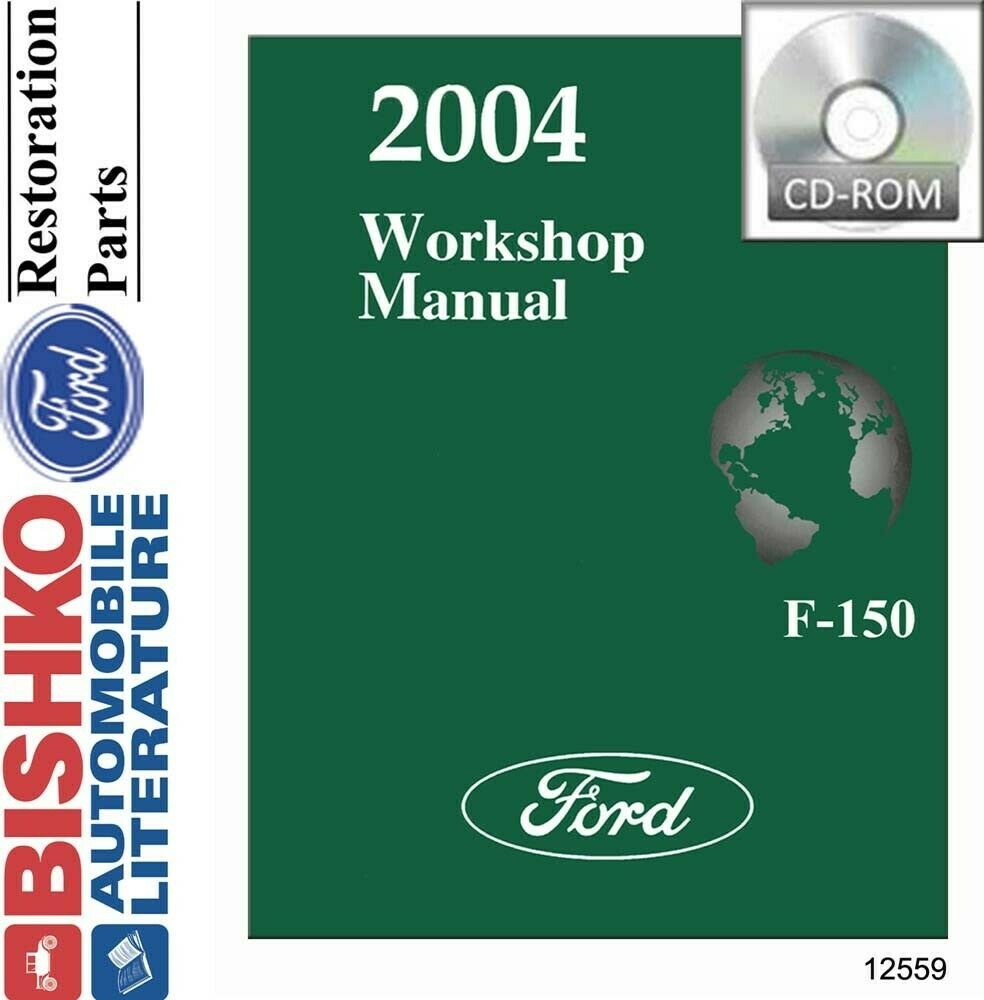 2004 ford f 150 truck shop service repair manual cd engine. Black Bedroom Furniture Sets. Home Design Ideas