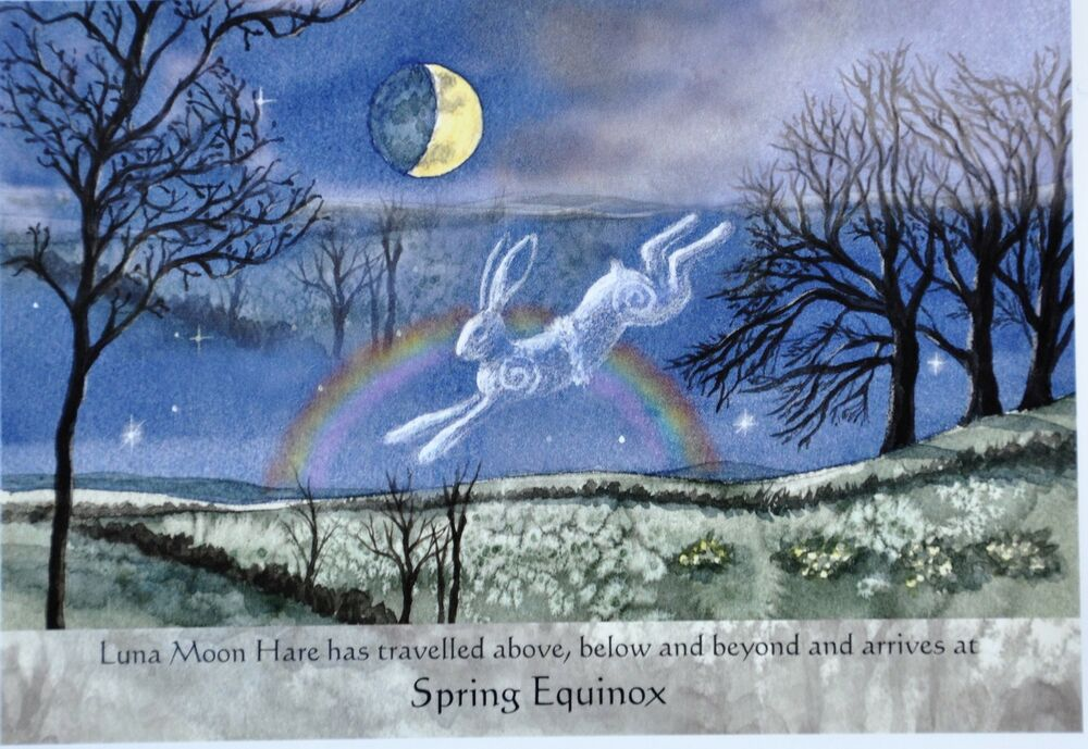 Wendy andrew pagan luna hare may june birthday summer solstice litha wendy andrew pagan luna hare may june birthday summer solstice litha card wicca ebay kristyandbryce Choice Image