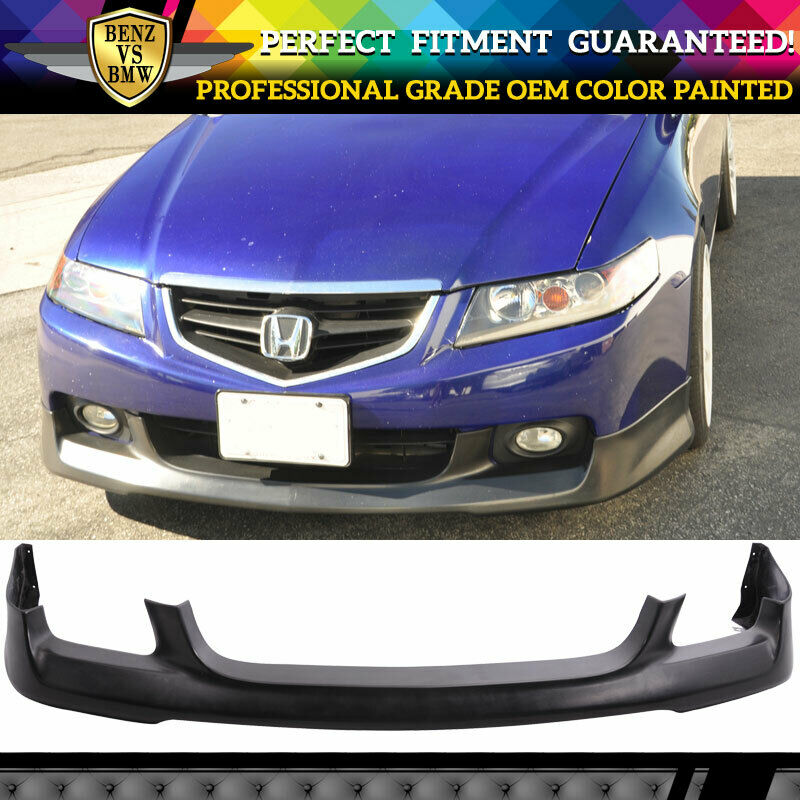 Fits 04-05 Acura TSX OE Front Bumper Lip Spoiler Painted