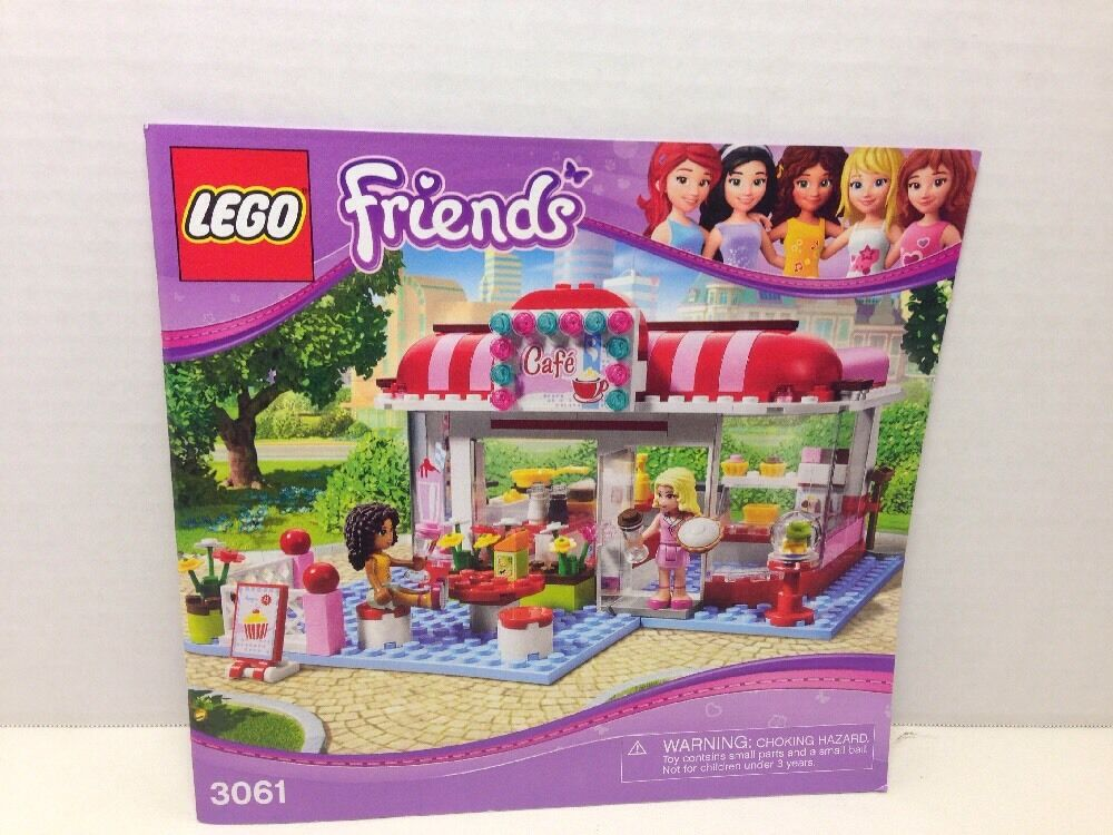lego friends 3061 instructions