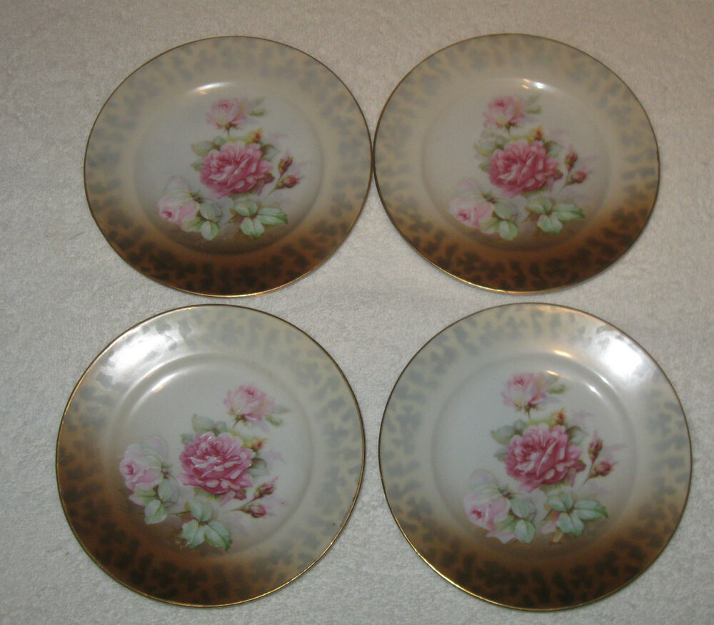 Can Antique vintage china dishes set that interrupt