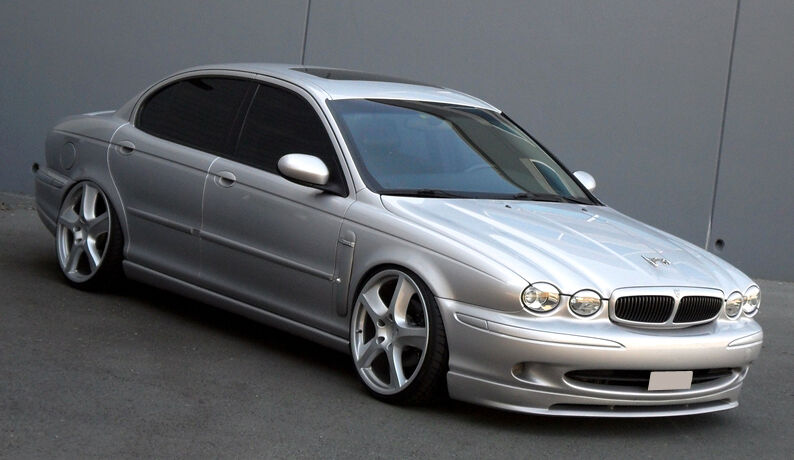 jaguar x type front bumper lip spoiler skirt valance. Black Bedroom Furniture Sets. Home Design Ideas