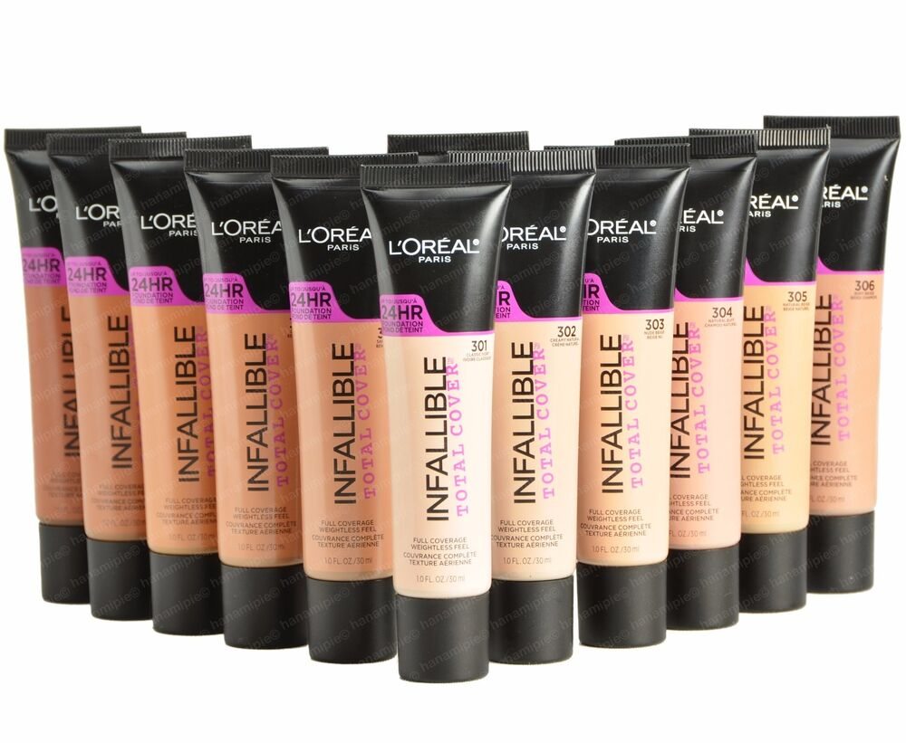 l u0026 39 oreal infallible total cover full coverage 24hr