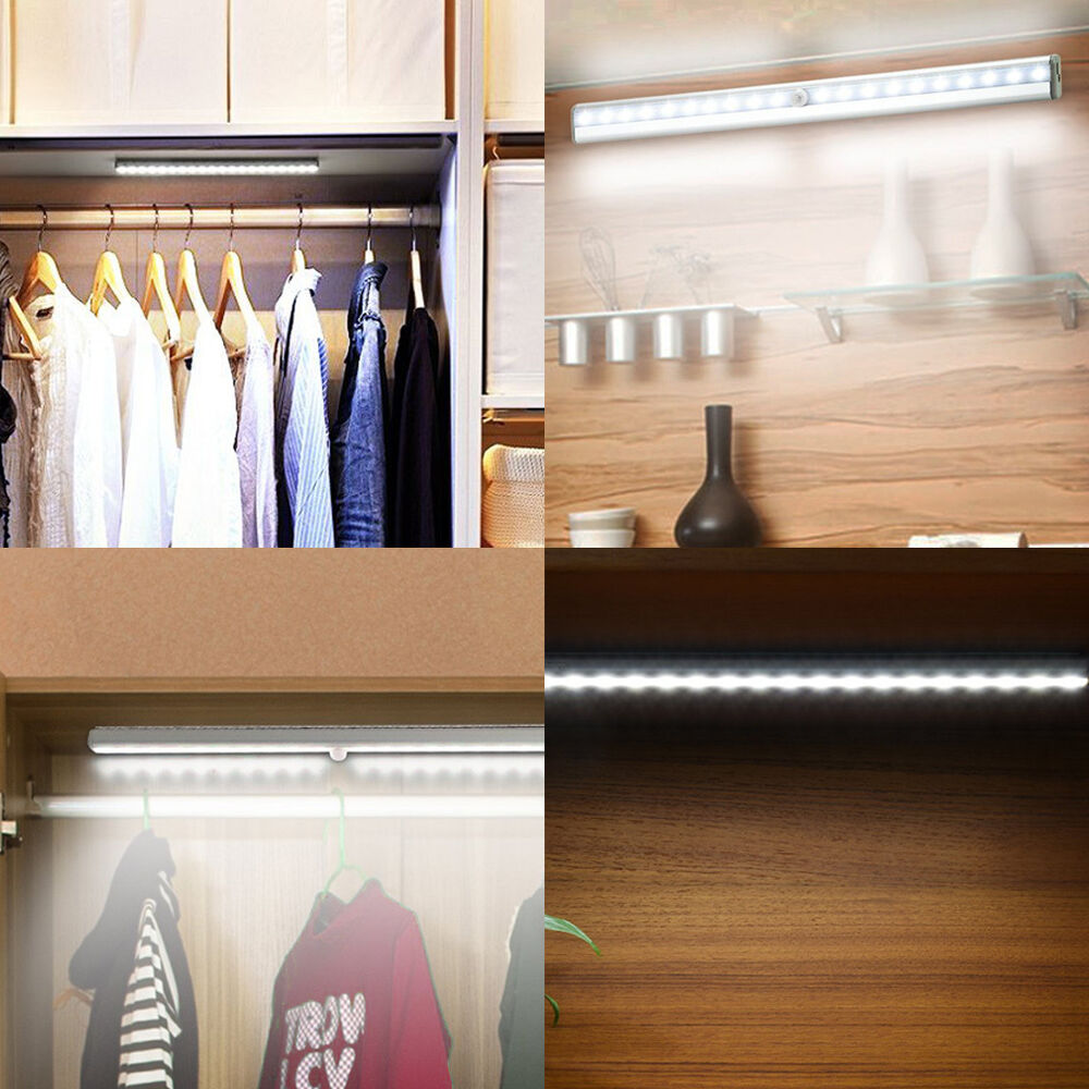 20 Led Usb Rechargeable Automatic Under Cabinet Light Pir