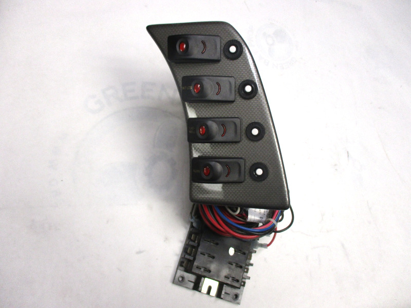 marine boat dash switch panel and fuse block ebay. Black Bedroom Furniture Sets. Home Design Ideas