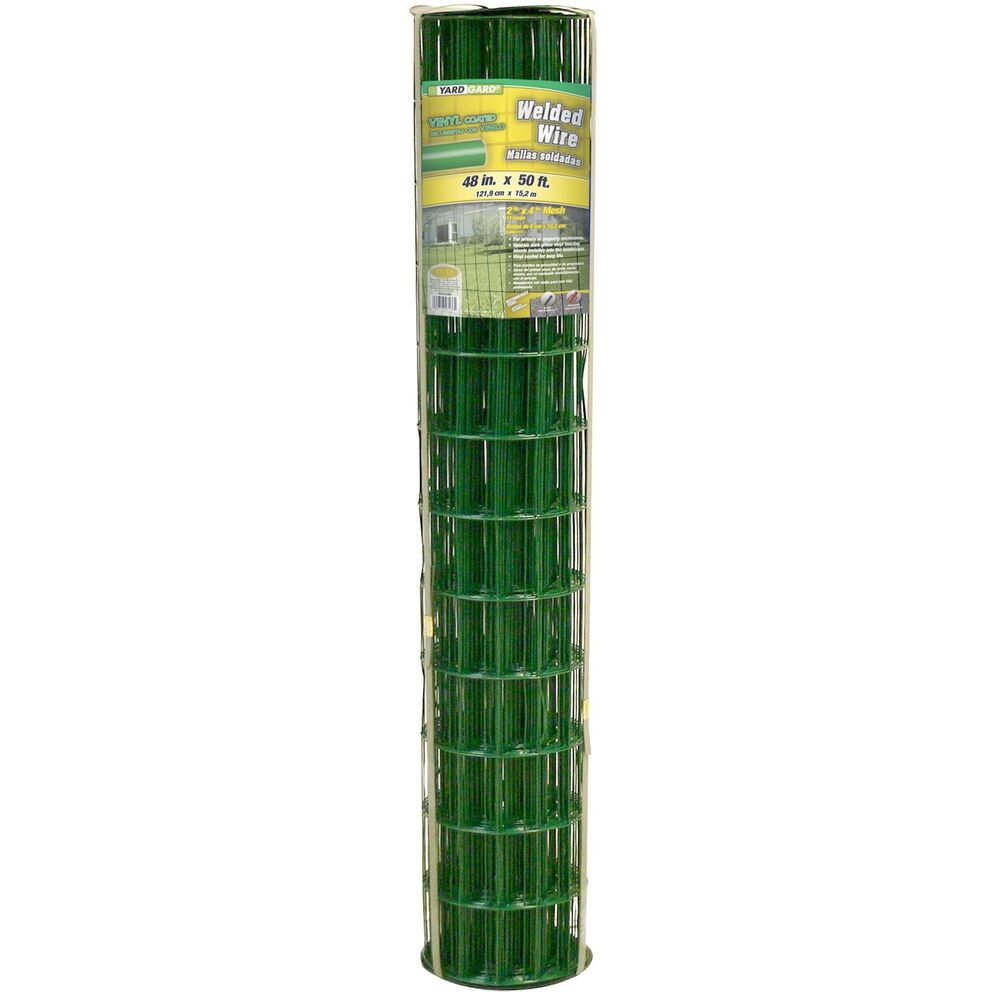 Yardgard 308358a Green Vinyl Coated Welded Wire Fence 14