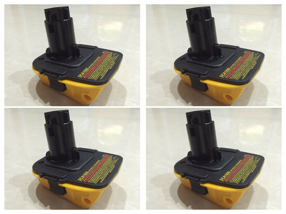 4pcs Dewalt Dca1820 Cordless Tool Battery For 18 To 20