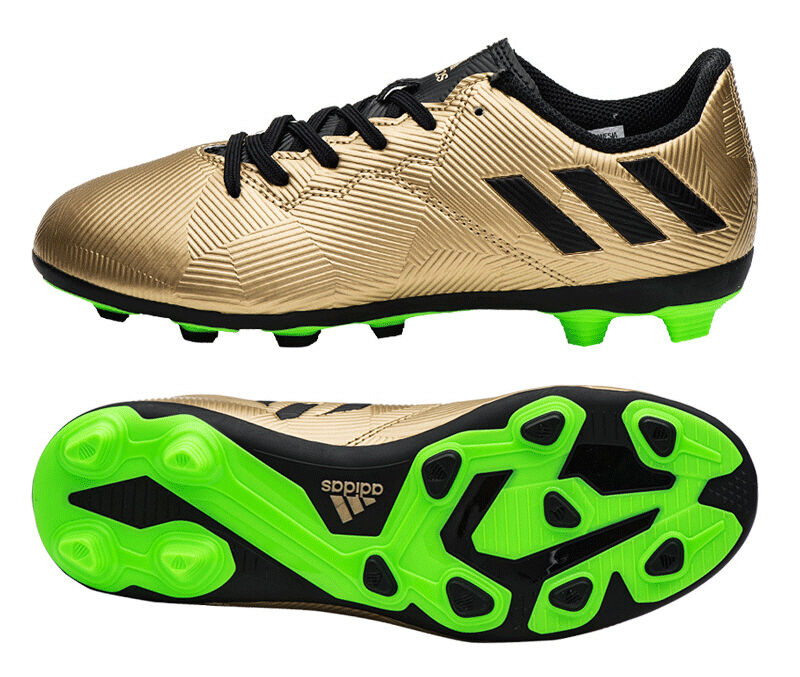 New messi shoes gold